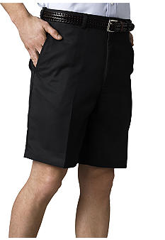 Haggar Big & Tall Cool 18 Flat Front Microfiber Shorts