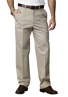 Haggar® Classic Fit Work To Weekend™ Flat Front Wrinkle-Free Pants
