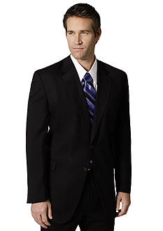 Saddlebred Classic Comfort Fit Black Suit Separate Coat