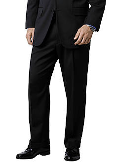 Saddlebred Classic Comfort Fit Black Suit Separate Pants