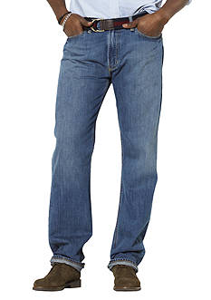 Polo Ralph Lauren Big & Tall Classic Fit Harrison Flat Front Jeans