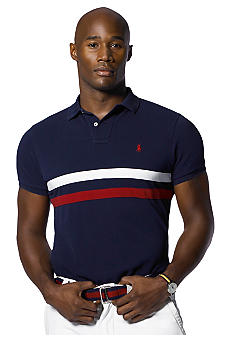 Polo Ralph Lauren Big & Tall Dual Stripe Polo