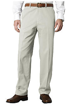 Savane Super Soft Performance Flat Front Chino Pants
