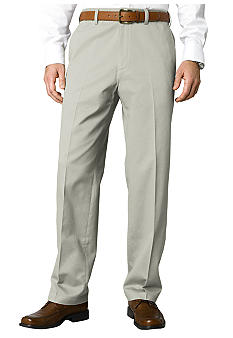 Savane® Big & Tall Super Soft Performance Flat Front Chino Pants