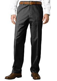 Savane Big & Tall Performance Chino Flat Front Wrinkle-Free Pants