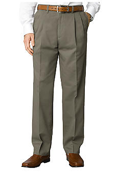 Savane Big & Tall Super Soft Performance Pleated Chino Pants