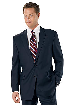 Nautica Navy Bone Suit Separate Coat