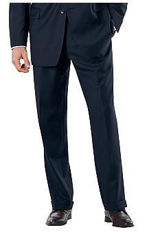 Nautica Navy Bone Suit Separate Pants