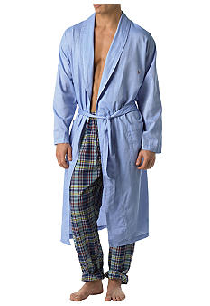 Polo Ralph Lauren Woven Robe Blue Royal Oxford