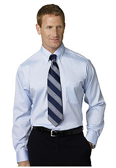 Eagle Shirtmakers Non- Iron Pinpoint Dress Shirt