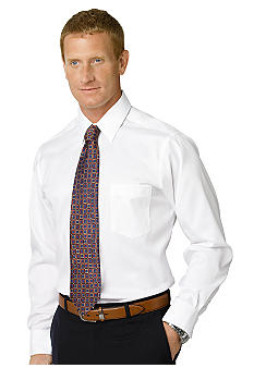 Eagle Shirtmakers Non-Iron Pinpoint Dress Shirt