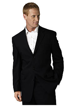 Calvin Klein Black Wool Suit Separate Jacket