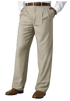 Lauren Ralph Lauren Tailored Clothing Total Comfort Pleated Dress Pants