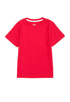 J Khaki Solid Crew Tee Toddler Boys