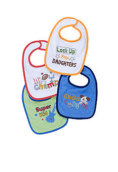 Nursery Rhyme 4 Pack Bibs