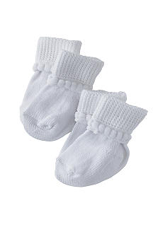 Nursery Rhyme Cotton Bootie 2 Pk