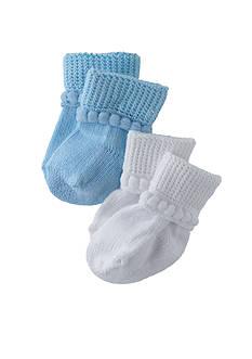 Nursery Rhyme Cotton Bootie 2 Pk
