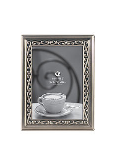 Burnes of Boston Bretton Pewter 4x6 Frame