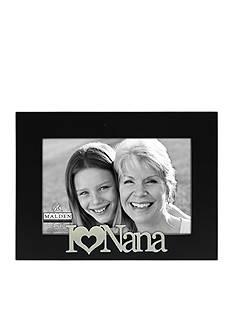 Malden I Love Nana 4x6 Frame