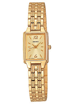 Seiko Ladies Gold Tone Bracelet Watch