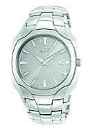 Citizen Men's Eco Drive Stainless Steel Bracelet Silver Dial