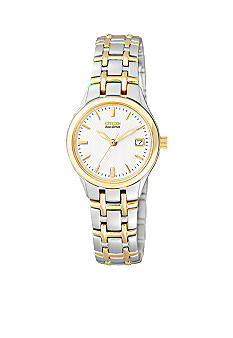 Citizen Ladies Two-Tone White Dial Watch