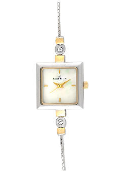 Anne Klein Ladies Square Tank Watch