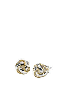 Belk Silverworks 24 kt Gold over Silver Earring Collection
