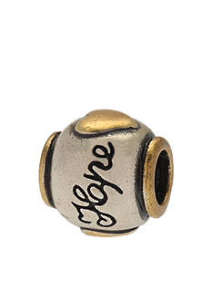 Belk Silverworks Two-Tone Hope Originality Bead