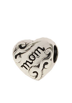Belk Silverworks Mom Heart Originality Bead