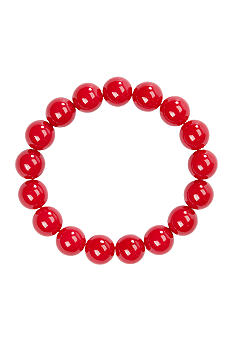 Kim Rogers 14mm Red Bead Bracelet