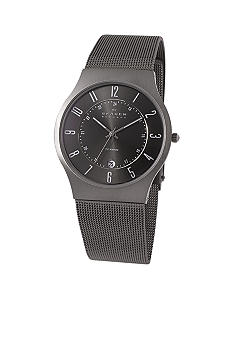 Skagen Men's Titanium Gray on Mesh band