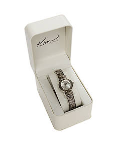 Kim Rogers Women's Antique Bangle Watch