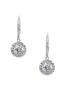Nadri Framed CZ Leverback Earring