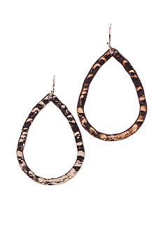 New Directions Teardrop Bronze Earring