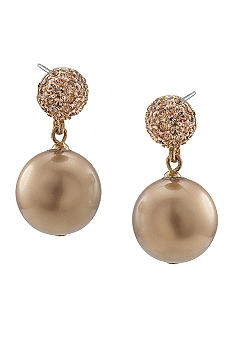 Carolee Gold Standard Double Drop Earring