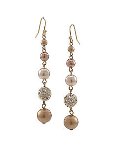 Carolee Gold Standard Linear Drop Earring