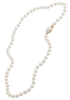 Carolee 18-in. 6-mm. Knot Simulated Pearl Necklace