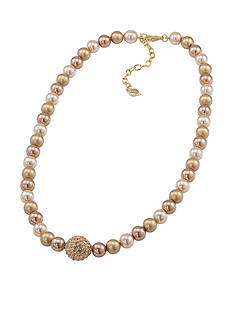 Carolee Gold-Tone Standard Strand Necklace