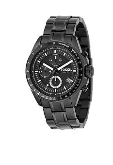 Fossil Men's Decker Black Multifunction