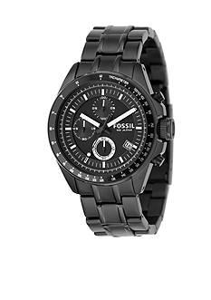 Fossil Men's Decker Black Multifunction Watch