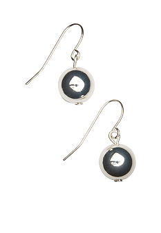Kim Rogers Sensitive Skin Silver 10mm Ball Drop Earring