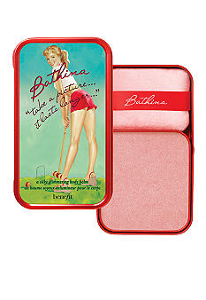 "Benefit Cosmetics Bathina ""take a picture, it lasts longer"""