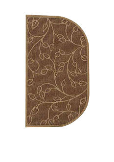 Bacova Wandering Leaf Slice Accent Rug