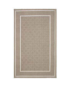 Bacova Basketweave Accent Rug