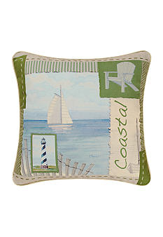 C&F Coastal Decorative Pillow