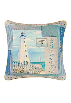 C&F Lighthouse Decorative Pillow