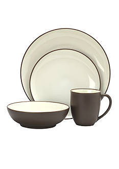 Noritake Colorwave Chocolate 4-Piece Place Setting