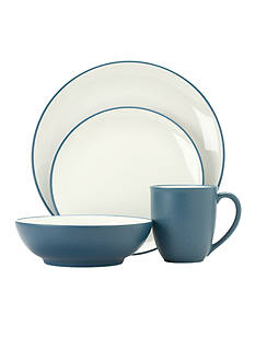 Noritake Colorwave Blue 4-Piece Place Setting