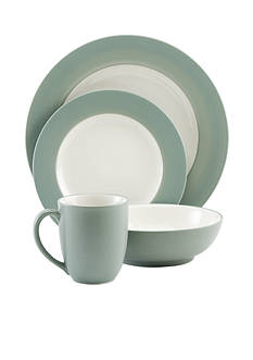 Noritake Rim 4 PC Place Setting